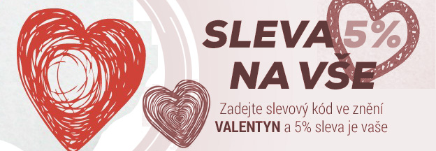 Sv. Valent�n a slevy